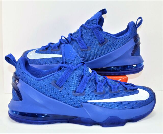 best service c1051 7ce78 Nike Lebron XIII 13 Low Game Royal Blue Kentucky Mens Size 12 831925-400