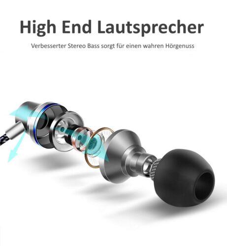 QKZ DM1 Bass In-Ear-Kopfhörer Ohrhörer High End Sound mit Mikrofon Schwarz