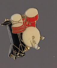 Pin's instrument de musique / batterie