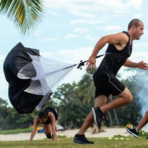 "NEW SPEED POWER RUNNING CHUTE 56/"" x 56/"" fitness resistance training parachute"