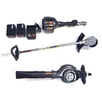 Core Cordless Gasless Power Drive Unit With String Trimmer & Blower Attachments on Sale
