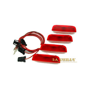 Image Is Loading 4pcs Door Warning Lights Cables For Vw Golf