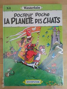 Docteur-Poche-par-Wasterlain-tome-4-La-planete-des-chats-Dupuis-1984