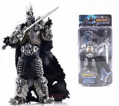 World of Warcraft Lich King Arthas Toy Figure Figurine Doll 100% New In Box