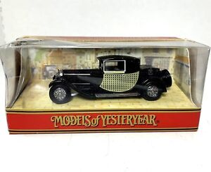 Details about Matchbox Models of Yesteryear '1922 Black Bugatti T44' 1/44