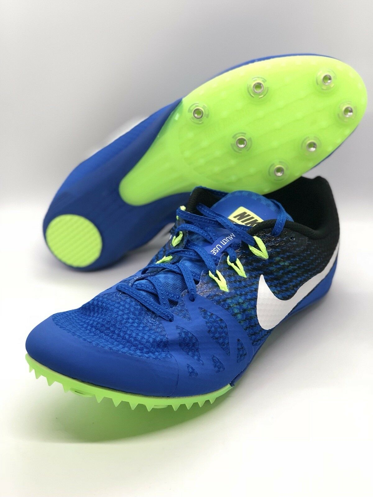 New Nike Zoom Rival M 8 Track Spikes Unisex 806555-413 Men's Size US 12.5