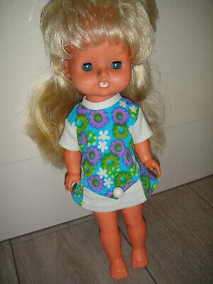 DDR Kult Puppe Ostalgie Puppe Mädchen ca.1970er ?? ARIBIGGI