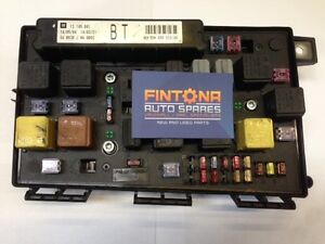 Details about Vauxhall Astra H UEC Front Fuse Box Module BT / Reset on