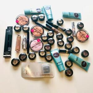 Wholesale-Lot-of-Cosmetics-Bulk-Bundle-Job-Mixed-Makeup-Elf-Technic-W7-Revlon