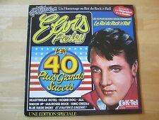 Elvis Presley LP: Les 40 Plus Grands Succes, 2 record set, K-TEL, France