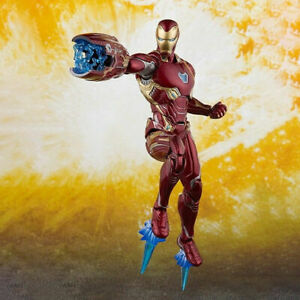 S-H-Figuarts-Iron-Man-MK50-Marvel-Avengers-Infinity-War-Action-Figure-Toy-Gift