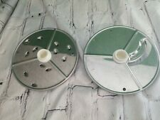 Robot Coupe Rc 7 Food Processor Slicing Disc And Grating Disc C3