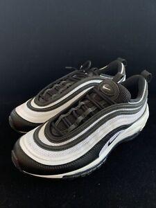 Womens Nike Air Max 97 White Black Size 8 5 Ebay