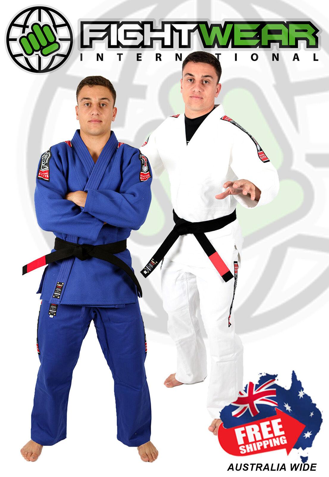 FightPro Elite Double Weave (BJJ) Brazilian Jiu-Jitsu Gi - Kimono