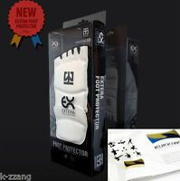 Mooto Wtf Taekwondo Foot Protector Extera S2 + Kukkiwon Badge Tae Kwon Do Korean