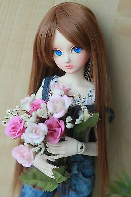 "<M-Style>YOSD bjd 6-7"" doll wig super dollfie HCF16-brown"