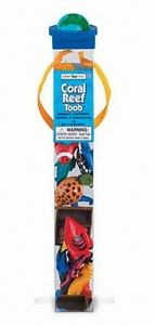Korallenriff-Fische-Tiere-12-tlg-Figuren-Sammler-Set-in-Roehre-Toob-Tube
