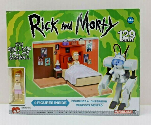 Rick And Morty You Shall Now Call Me Snowball Construction Set 129 Pieces 14+