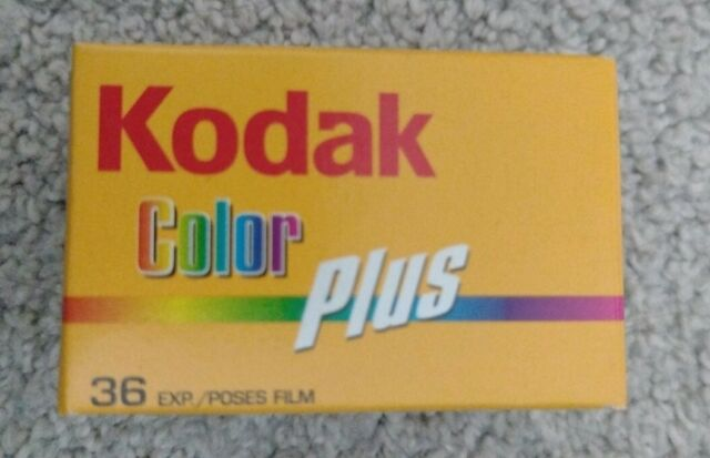 Kodak Color Plus 200 36 exp 35mm. Expired 2009
