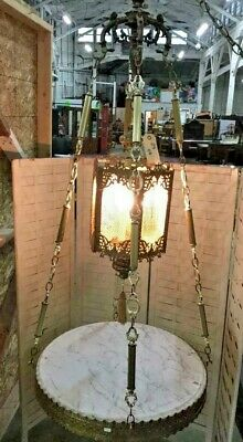 Hanging Italy Marble Table Lamp