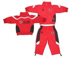 b8c28751 Details about NWT Atlanta Falcons NFL Infant/Baby 2 Piece Performance  Tracksuit Set 12M-24M