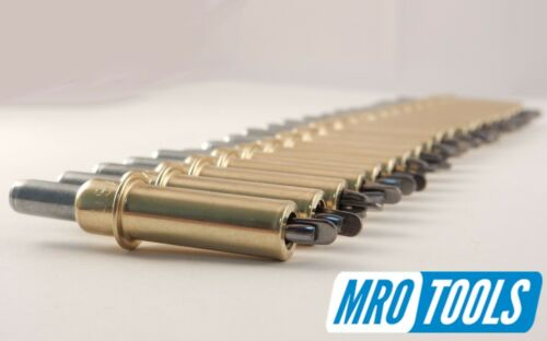 3//16 Temporary Rivet Set for Body Panel Repair 50 PC Kit w// Pliers K1S50-3//16