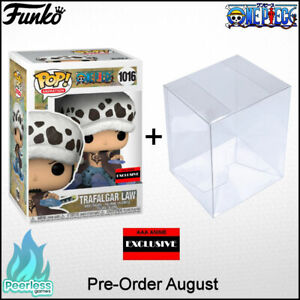 Funko POP! One Piece Trafalgar Law Room Attack AAA Anime Exclusive Common Sept