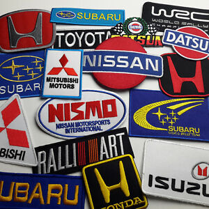 JAPANESE-CAR-MARQUE-DISCOUNT-PATCH-SHOP-Low-Prices-UK-Seller-Fast-Free-Post