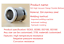ISO-K-High-Vacuum-Flexible-Bellows-Stainless-Steel-Hose-Tube-ISO63-ISO80-ISO100 thumbnail 5