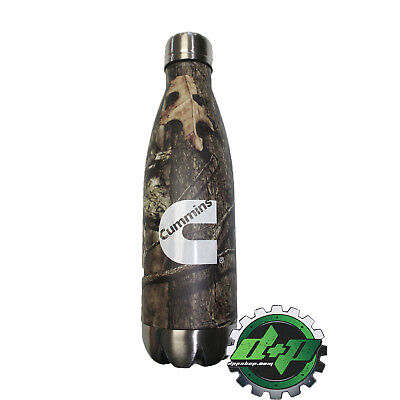 Cummins Mossy Oak Camo Insulated Travel Thermos Bottle