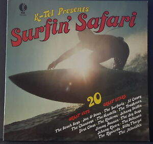 SURFIN-039-SAFARI-20-GREAT-HITS-20-GREAT-STARS-1976-K-TEL-NA-502-OZ-VINYL-GREAT