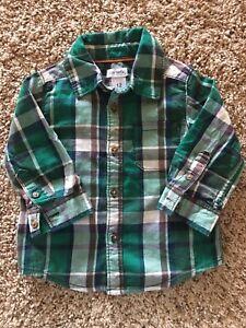 Carters-Baby-Boy-Plaid-Shirt-12-Months