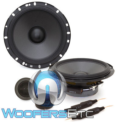 "2set ALPINE S-S65C 6.5/"" CAR AUDIO 240W 2-WAY SILK TWEETERS COAXIAL SPEAKERS"