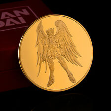 999 Gold Surface Saint Seiya COINS Collection 30 Anniversar Limited with Box