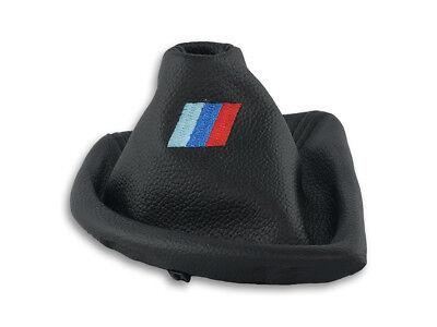 POUR BMW E81 E87 SOUFFLET LEVIER DE VITESSE FREIN A MAIN ALCANTARA FIL M3 MPower