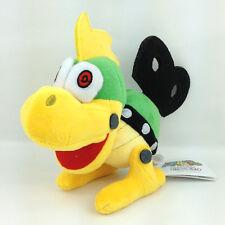 "Mecha Koopa Super Mario Bros Windup Soft Plush Toy Bowser Koopalings Minion 6"""