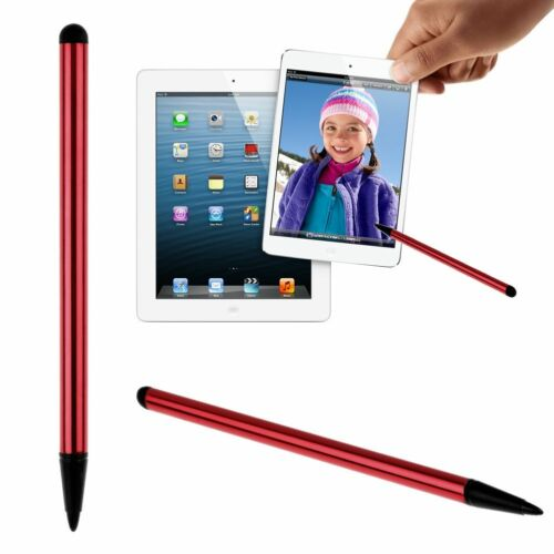 2 in1 Touch Screen Pens Stylus Universal For iPhone iPad Samsung Tablet Phone PC
