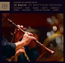 J.S. Bach / Aam / Choir Of The Aam / Egarr - St. Matthew Passion [New CD]