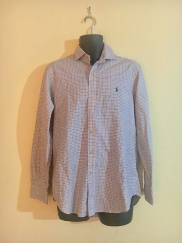 Polo Ralph Lauren Plaid Shirt Long Sleeve Mens Me… - image 1