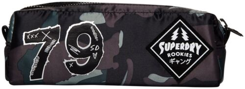 SUPERDRY PATCHED MONTANA PENCIL CASE Patched Camo
