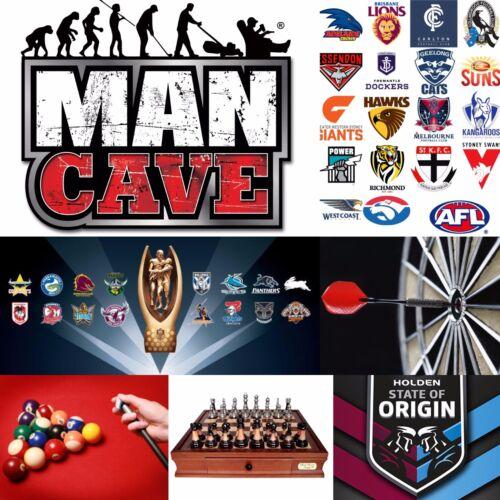 Man Cave Bar Round Bottom GLASS BEER SCHOONER U Can/'t Put Me Down Bucks Party