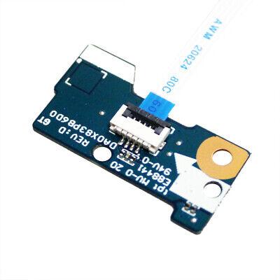 Compatible for HP ProBook 450 455 G4 Fits for Y8B55EA Y8B57EA Y8B59ES Y8B53EA Replacement Power Button Board Cable