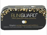 Bling Dots By Bling Guard Supports & Stabilizers For Studs,hoops & Dangles 90pc