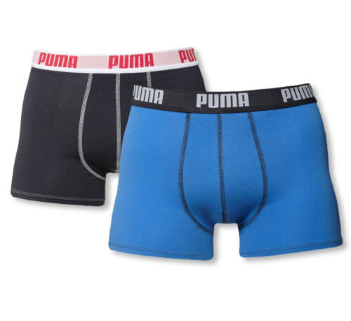PUMA Boxer Boxershorts short mutande uomo 4er 6er 8er 10er Pack Pantaloni Shorts