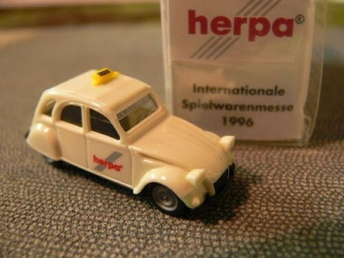 1//87 Herpa Citroen 2CV 6 Taxi 13 IAA 1996 Herpa Internationale Spielwarenmesse