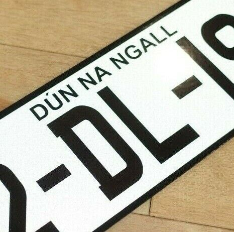 NCT Legal IRELAND EU Number Plates Registration Plate FREE P/&P Made To Order