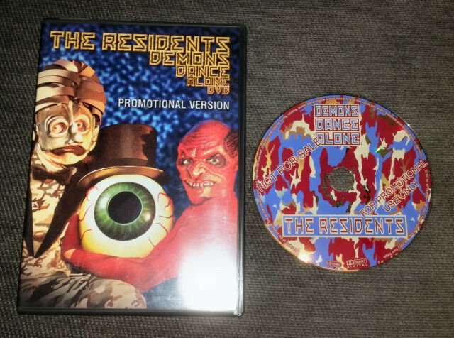 THE RESIDENTS DEMONS DANCE ALONE PROMO DVD rare version NTSC ALL REGIONS 5.1 SUR
