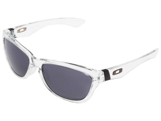 7a95080912d0a Oakley Jupiter Sunglasses Clear grey Sonnenbrille Retro Lunettes De Soleil