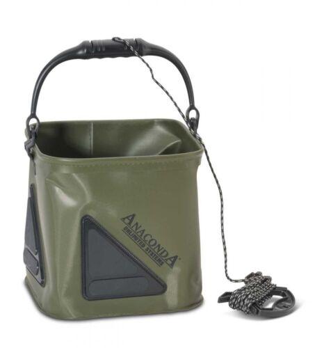 NEU 2018 6m Leine Anaconda Pull Up Bucket 17l