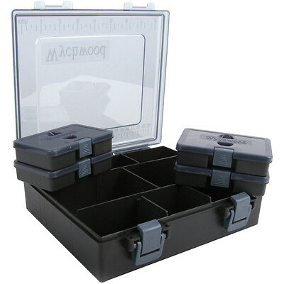 Wychwood Complete Tackle Boxes - Medium and Large Sizes.